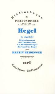 Hegel - La négativité, éclaircissement de lintroduction à la Phénoménologie de lesprit de Hegel.pdf