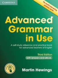 Histoiresdenlire.be Advanced Grammar in Use Book with answers and eBook - A self-study reference and practice book for advanced learners of English Image