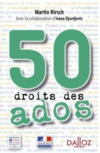 Martin Hirsch - 50 droits des ados.