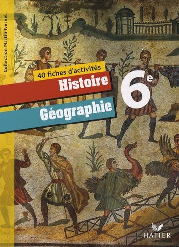 40 Fiches D Activites Histoire Geographie 6e