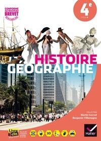 Martin Ivernel et Benjamin Villemagne - Histoire-géographie 4e.