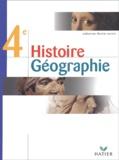 Martin Ivernel et  Collectif - Histoire Géographie 4ème.