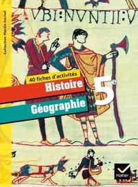 E Livre Histoire Geographie 5e 40 Fiches D Activites Pdf En