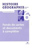 Martin Ivernel - Histoire-Géographie 6e - Fonds de cartes et documents à compléter, programme 2009.