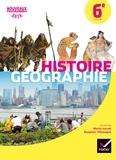 Martin Ivernel et Benjamin Villemagne - Histoire Géographie 6e - Manuel de l'élève.