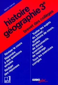 Histoire-géographie, brevet des collèges - Martin Ivernel | Showmesound.org