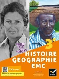 Martin Ivernel et Vincent Olive - Histoire-Géographie-EMC 3e - Ed 2021 - Livre élève.