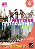 Martin Ivernel et Benjamin Villemagne - Histoire-Géographie-Enseignement Moral et Civique 4e - Manuel de l'élève.