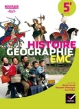 Martin Ivernel et Benjamin Villemagne - Histoire Géographie Enseignement moral et civique 5e - Manuel de l'élève.