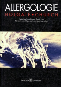 Martin-K Church et Stephen-T Holgate - Allergologie.