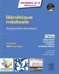 Martin Krahn et Damien Sanlaville - Génétique médicale - Enseignement thématique.