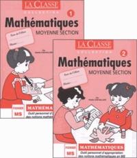 Odette Chevaillier - Mathématiques Moyenne Section - Tomes 1 et 2.