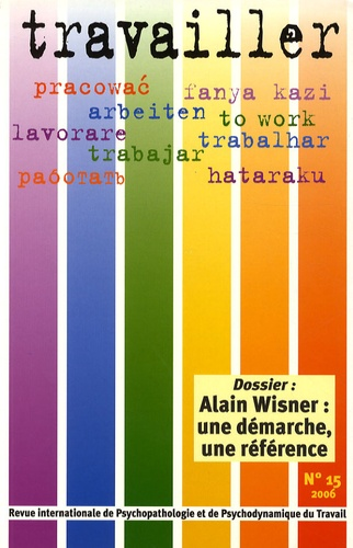 Pascale Molinier - Travailler N° 15/2006 : .