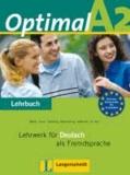 Martin Müller et Paul Rusch - Optimal A2 - Lehrbuch A2 - Lehrwerk für Deutsch als Fremdsprache.