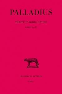 Martin - Traité d'agriculture. - Tome 1.