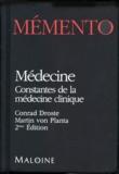 Martin von Planta et Conrad Droste - Mémento médecine - Constantes de la médecine clinique.