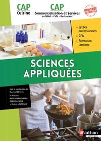Martin Woelfli et Margaret Andriamampandry-Rakotoarivelo - Sciences appliquées CAP Cuisine et CAP Commercialisation et services en Hôtel, café, restaurant.