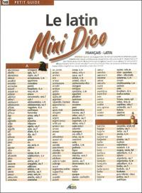 Le latin- Mini Dico français-latin - Martina Krcmar | Showmesound.org