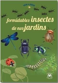Martine Baurain et Jean-Marc Dubray - Formidables insectes de nos jardins.