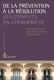 Martine Becker et Stefania Chianetta - De la prévention à la résolution des conflits en copropriété.