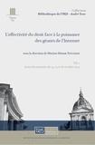 Martine Behar-Touchais - L'effectivité du droit face à la puissance des géants de l'Internet.