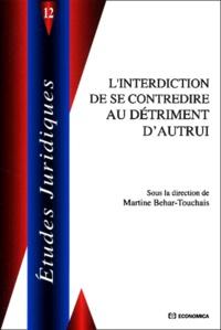 Martine Behar-Touchais - .