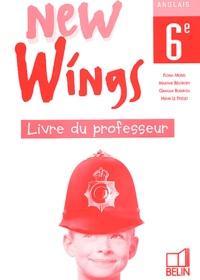 Deedr.fr Anglais 6ème New Wings. Livre du professeur Image
