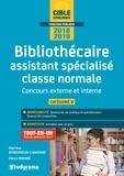 Martine Benkimoun-Canonne et Pierre Maubé - Bibliothécaire assistant spécialisé classe normale - Concours externe et interne Catégorie B.