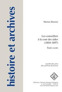 Deedr.fr Les conseillers à la cour des aides (1604-1697) - Etude sociale Image