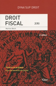 Martine Betch - Droit fiscal.