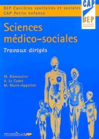 Martine Blamoutier - Sciences médico-sociales - Travaux dirigés.