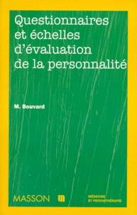 Martine Bouvard - Questionnaires et échelles d'évaluation de la personnalité.