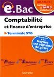 Martine Burnens et Eric Marcel - Comptabilité et finance d'entreprise Terminale STG e.bac.