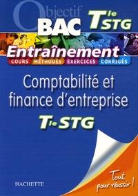 Martine Burnens et Sophie Da Costa - Comptabilité et finance d'entreprise Tle STG - Entraînement.