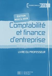 Martine Burnens et Sophie Da-Costa - Comptabilité et finance d'entreprise Tle STG - Livre du professeur. 1 CD audio
