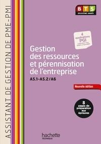 Martine Burnens et Ludovic Dietz - Gestion des ressources et pérennisation de l'entreprise (A5.1-A5.2/A6) BTS assistant PME-PMI 2e année.