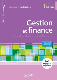 Martine Burnens et Arnaud Coriton - Gestion et finance Tle STMG - Pages détachables.