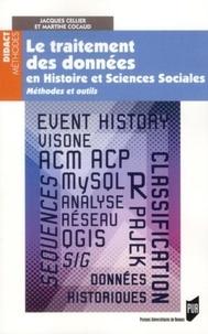 Martine Cocaud et Jacques Cellier - Le traitement des données en histoire et sciences sociales - Méthodesetoutils.