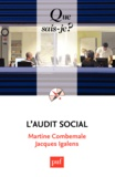 Martine Combemale et Jacques Igalens - L'audit social.