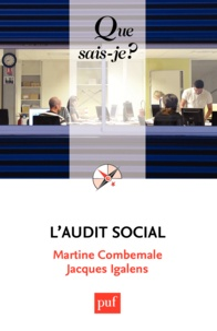 Martine Combemale et Jacques Igalens - L'audit social.