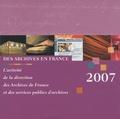 Martine de Boisdeffre - Des archives en France - L'activité de la direction des Archives de France et des services publics d'archives.