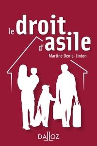 Martine Denis-Linton - Le droit d'asile.