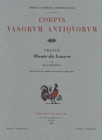 Martine Denoyelle - Corpus Vasorum Antiquorum - France fascicule 38, Musée du Louvre fascicule 25, Céramique proto-italiote (lucanien ancien et apulien ancien).