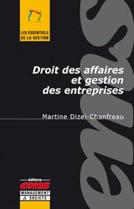 Martine Dizel-Chanfreau - Droit des affaires et gestion des entreprises.