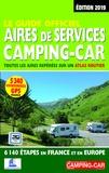 Martine Duparc - Le guide officiel aires de services camping-car - Toutes les aires repérées sur un atlas routier, 6840 étapes en France et en Europe.