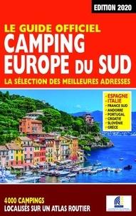 Martine Duparc - Le guide officiel camping Europe du Sud.