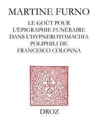 Martine Furno - Une fantaisie sur l'Antique : le goût pour léépigraphie funéraire.