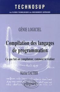 Coachingcorona.ch Compilation des langages de programmation - Ce que fait un compilateur, comment le réaliser Image