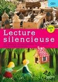 Martine Géhin - Lecture silencieuse CE1 Série 2 - 16 dossiers documentaires et un conte avec les corrigés des exercices.