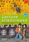 Martine Géhin - Lecture silencieuse CM1 série 2 - 16 dossiers documentaires et une nouvelle avec les corrigés des exercices.